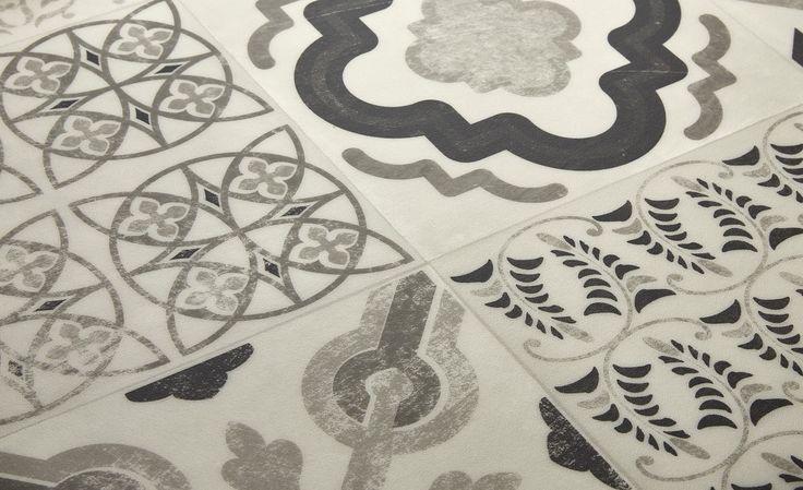 Meer dan 1000 idee n over sol vinyle op pinterest saint for Carreaux de ciment saint maclou