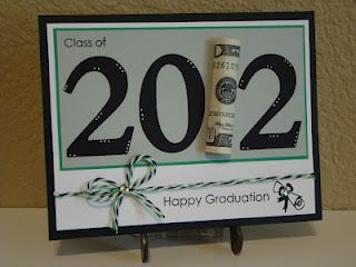 great way to give money to a graduate....