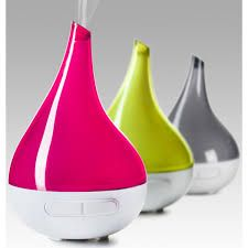 Aroma-Bloom range of diffusers, operate with just a few drops of essential oil and water. The ultrasonic technology utilises high frequency vibrations to atomize the liquid, meaning there is no need for heat source. Each micro sized droplet is coated with a fine layer of the essential oil. This cool mist becomes a vapour which spreads evenly throughout the room, and is easily inhaled and absorbed.