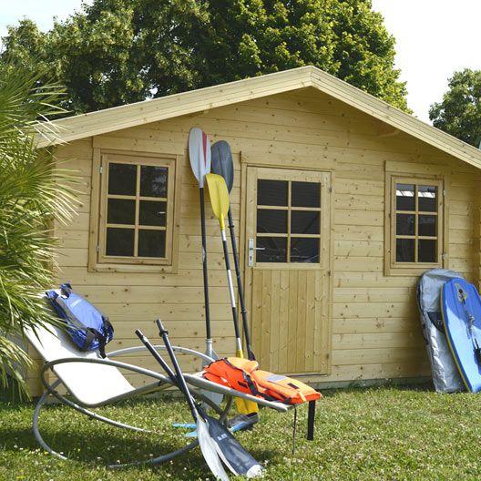 Abri et chalet de jardin en bois plus de 10 id es s lectionn es pour d couvrir bricolage et - Abri de jardin en bois naterial tepsa ...