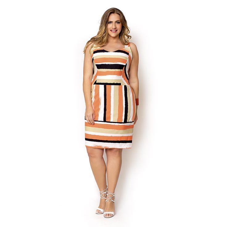 Vestido Plus Size Mayra