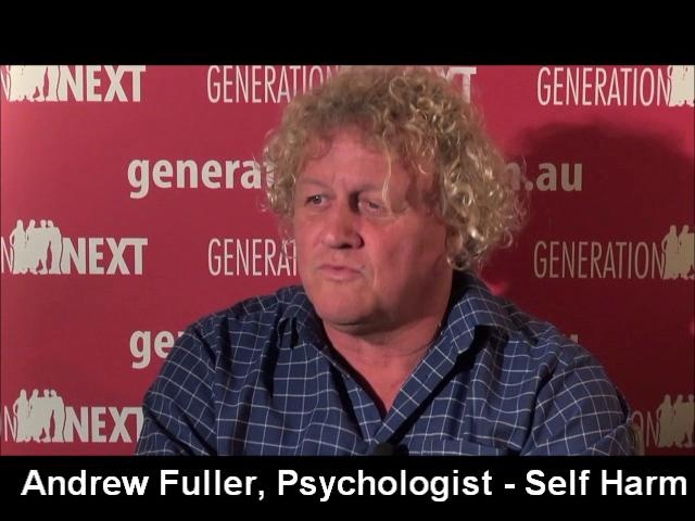 Psychologist Andrew Fuller discusses why teens self-harm.