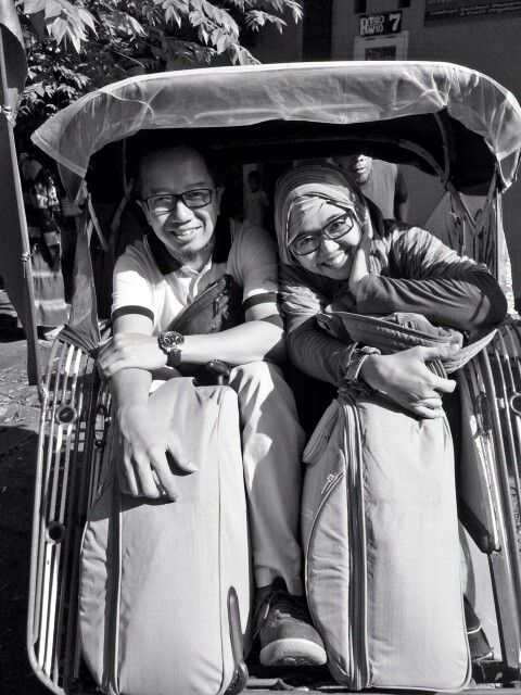 #blackandwhite#travelling#becak#photography#yogya