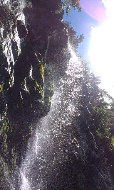 Spray from Fairy Falls