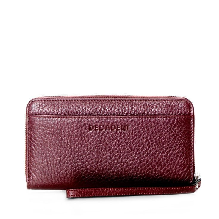 Decadent Zip Wallet Wine