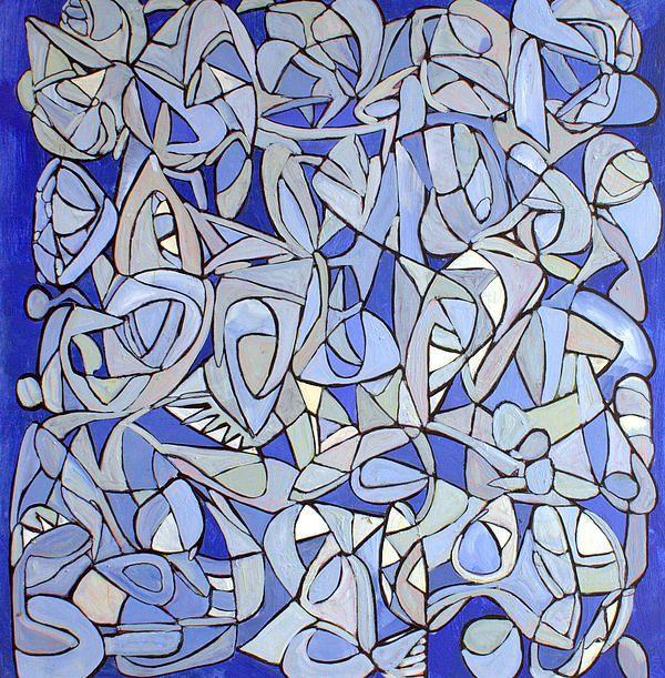 "www.stevenwmiller.com oil on canvas 50x50"" untitled: Interior Design, Steven Miller, Design Community, Oil On Canvas, Canvas 48X48, Original Art, Www Stevenwmiller Com"