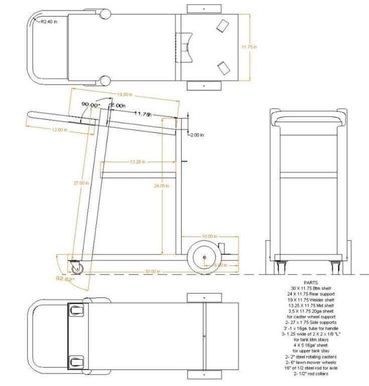 welding cart plans free