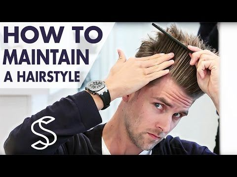 How to maintain a hairstyle ★ Undercut and volume ★ Men's hair inspiration by Slikhaar TV - YouTube