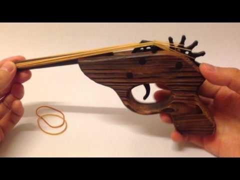 Yoshiny's Design: Rubber band Gun Review