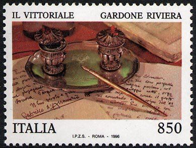 I tesori dei musei e degli archivi nazionali - Vittoriale di Gardone Riviera - manoscritti di Gabriele D'Annunzio