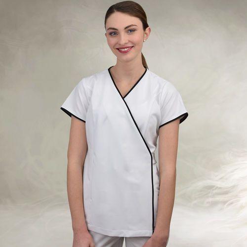 berufsbekleidung spa und wellness kasack, salon uniforms, spa wellness fashion