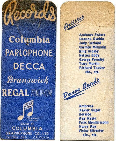 Columbia Graphophone Co Ltd