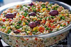 PANELATERAPIA - Blog de Culinária, Gastronomia e Receitas: Arroz com Bacalhau e Grão de Bico