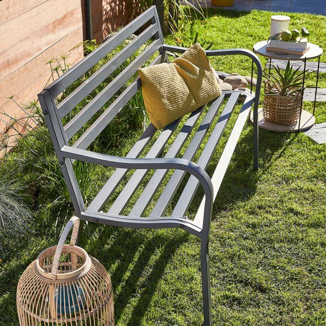 Les 1380 meilleures images propos de terrasse et balcon for Banc de jardin leroy merlin