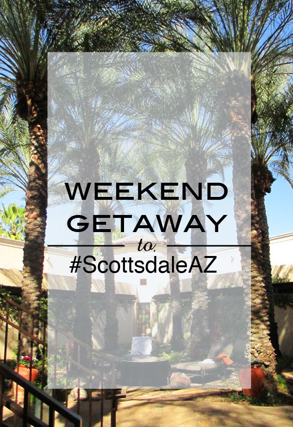 Weekend Getaway to #scottsdaleAZ. We could sure use some nice desert heat right now!
