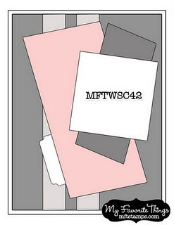 MFTWSC42 card sketch. #cards #card_making #sketches #crafts
