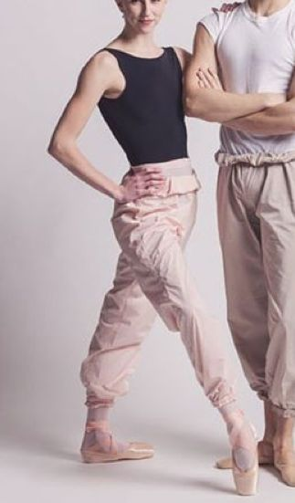 Ballet warm-up pants.