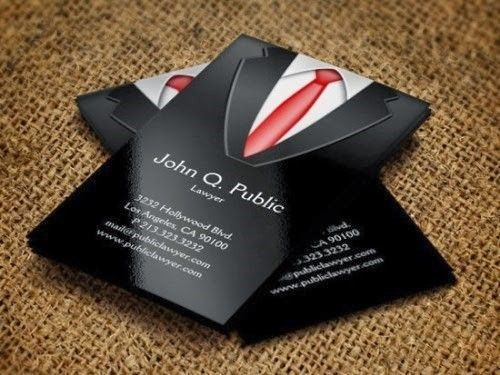 31 best creative business cards images on pinterest carte de black suit business card reheart Images