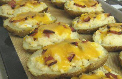 Rezept: Doppelt gebackene Kartoffeln Bild Nr. 4