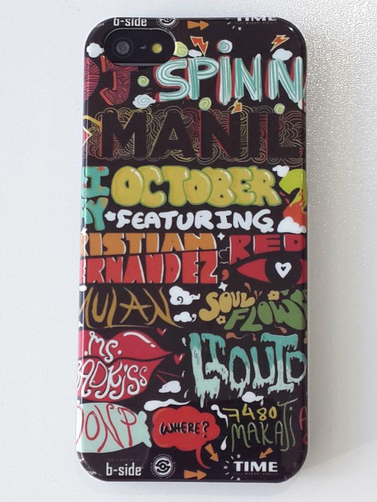 Carcasa dibujo letras colores    Iphone 5G / 5S  a 4,95€ Envíos incluidos www.mcase.es