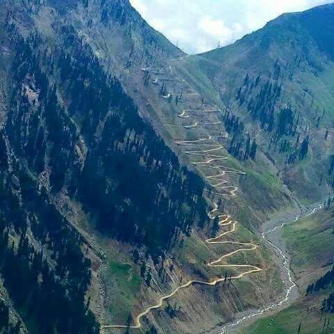 Road to Lowari Top, Hindu Kush, KPK