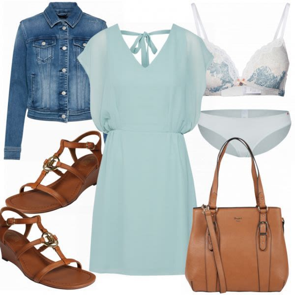 Frühlings-Outfits: ABOUT YOU bei FrauenOutfits.ch #mode #damenmode #frauenmode …