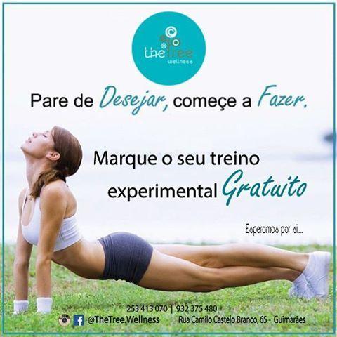Visite-nos, esperamos por si… GO follow ▶Instagram @thetree.wellness #TheTree2016 #Guimarães #personaltraining #funcionaltraining #Guimaraes #treinofuncional (em The Tree)
