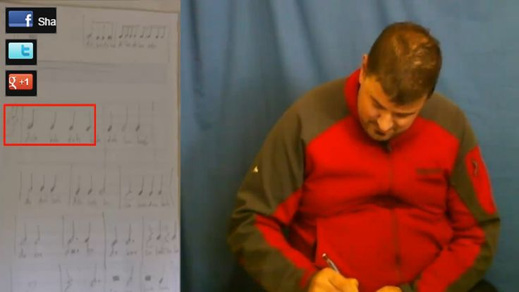 Nick Transcribes His First 76 Quarter Note Rhythm Patterns From Scatch--With Surprising Ease--In Less Than 19 Minutes!