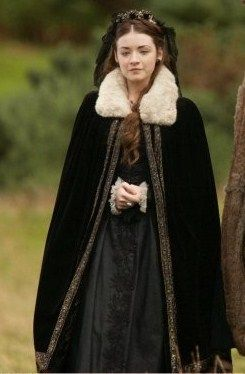 Mary Tudor. (The Tudors) daughter of Henry and Catherine of Aragon.