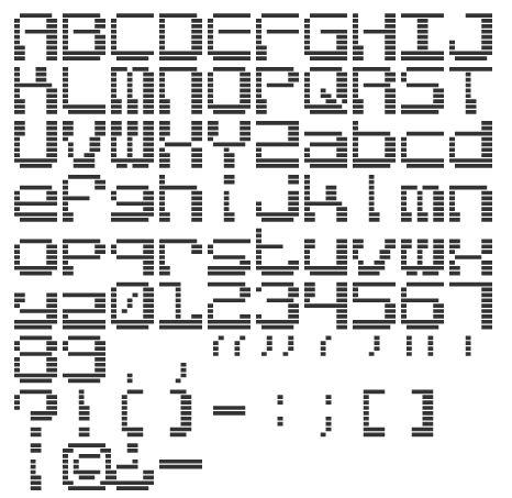 Image result for 1980's game computer font