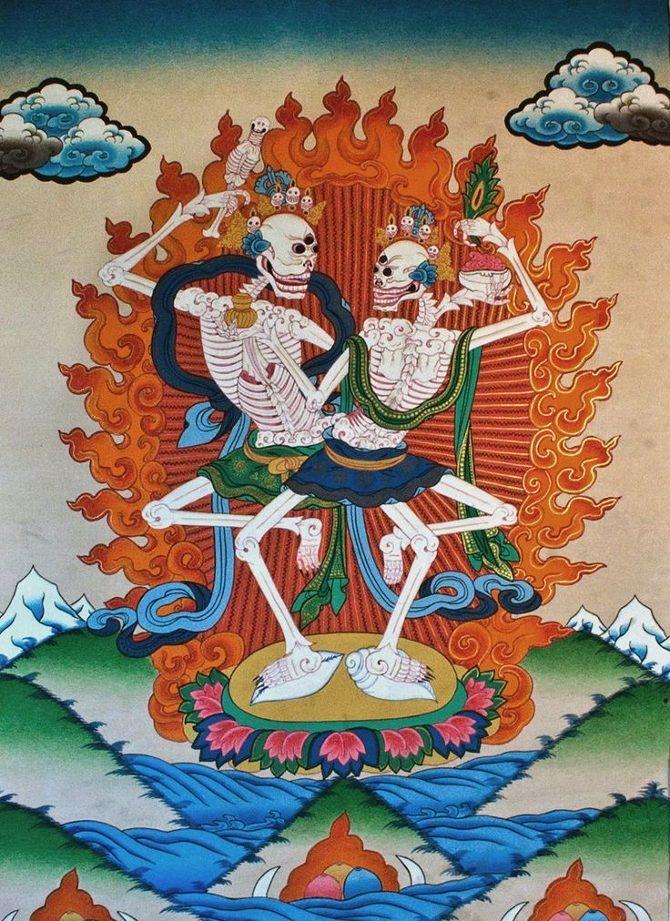 The Illustrated Tibetan Book of the Dead Cognoscenti Books