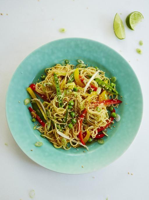 Veggie noodle stir-fry | Jamie Oliver | Food | Jamie Oliver (UK)