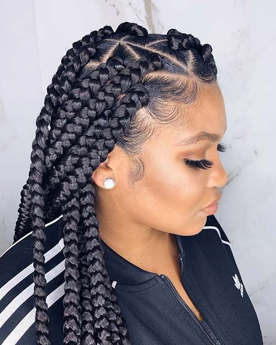 23 Trendy Ways To Wear Individual Braids This Season With