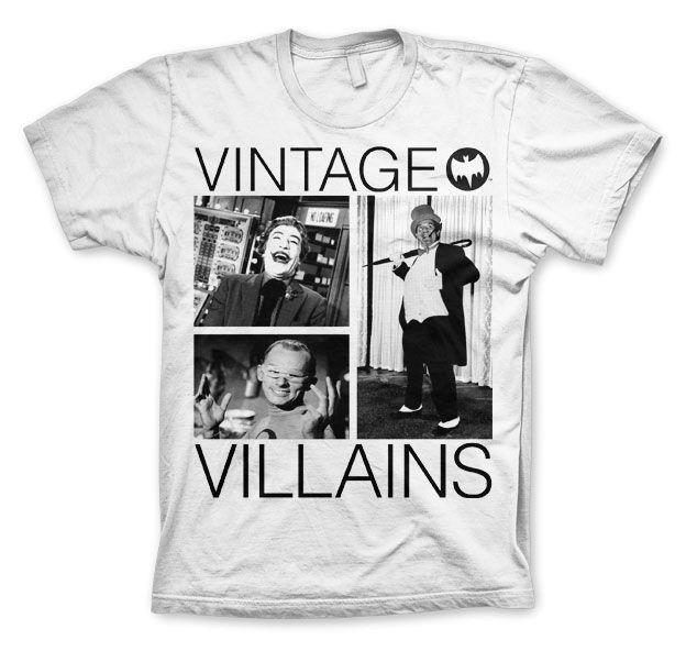 Batman Vintage Villains Koszulka Męska
