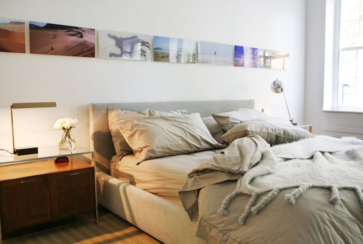 Contemporary bedroom design by Kelly Behun