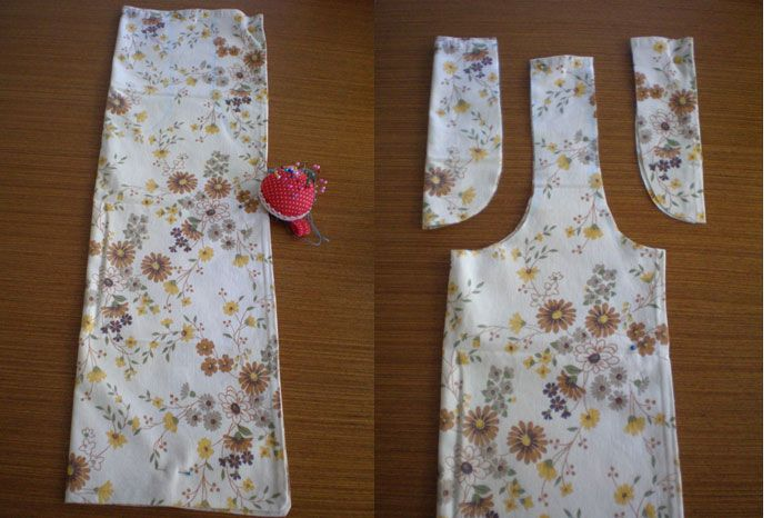 shopping bags made from vintage pillowcases <-- cute!