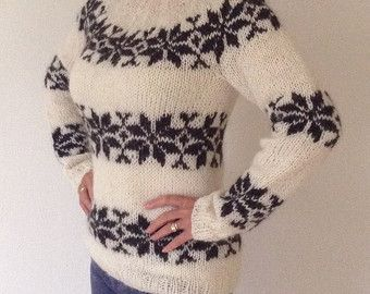 Sarah Lund sweater from The Killing - handmade in pure Icelandic Wool - also to order in other colors -    Edit Listing  - Etsy
