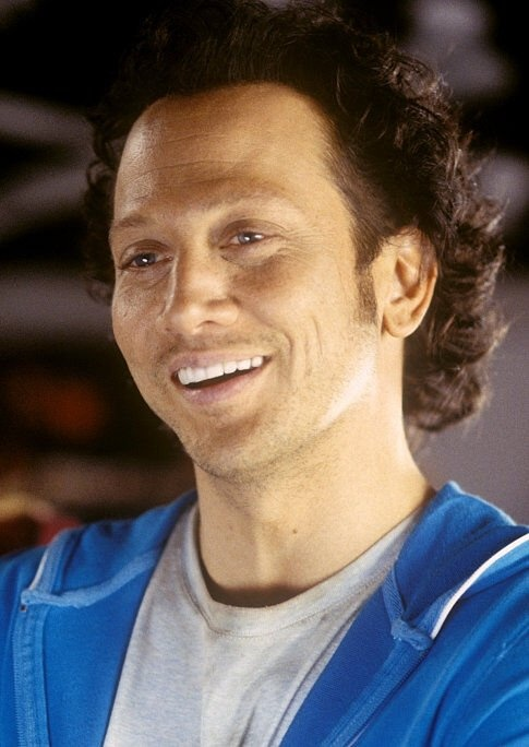 Rob Schneider, he is so funny-dig the hair