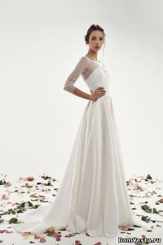 Свадебное платье из тафты (#06 612), цена 49400 руб. | «Дом Весты»