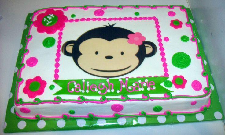 monkey birthday theme | Cake Gallery :: Birthday Cakes :: May2011_051