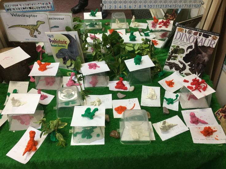Dinosaurs - the children created their own dinosaurs which we used as a starter for information text writing