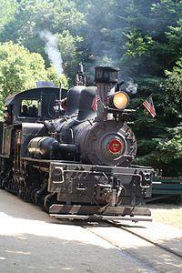 Roaring Camp Railroad, Santa Cruz, California