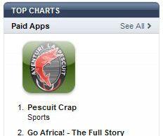 """Aplicatia """"Pescuit Crap"""" se mentine pe primul loc in topul aplicatiilor din categoria """"Sport"""""""