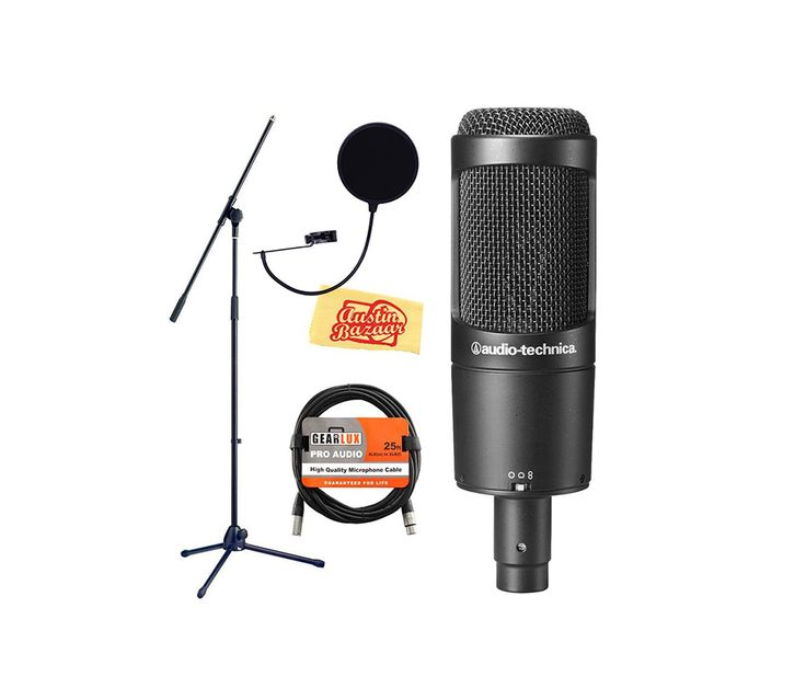 Best Condenser Microphones for Studios Under $300 Building your own studio may sound like fun, but it is not an easy task. It requires lots of patience, time investment and technical knowledge in order to set up the equipment properly and know how to operate them.   #condenser #mic #microphone #pop filter #pop shield #price #shockmount