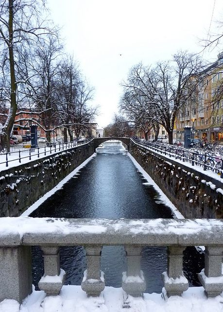 Uppsala, the most enigmatic city in the world. Sweden, december 2010. by Antropólogo Fidelio, via Flickr