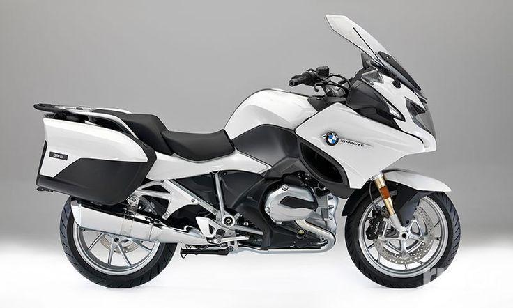 2017 BMW R 1200 RT in Alpine White.