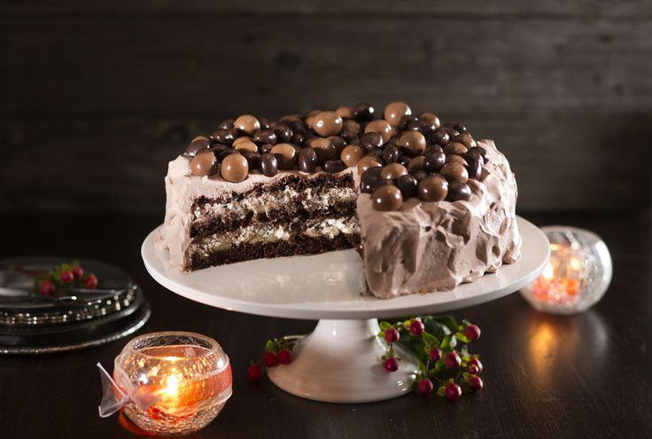Suklaatäytekakku Täyte