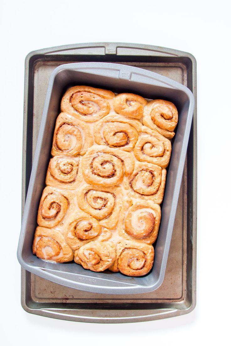 Chai Cinnamon Rolls: Powder Sugar, Hot Chai, Chai Cinnamon, Cinnamon ...
