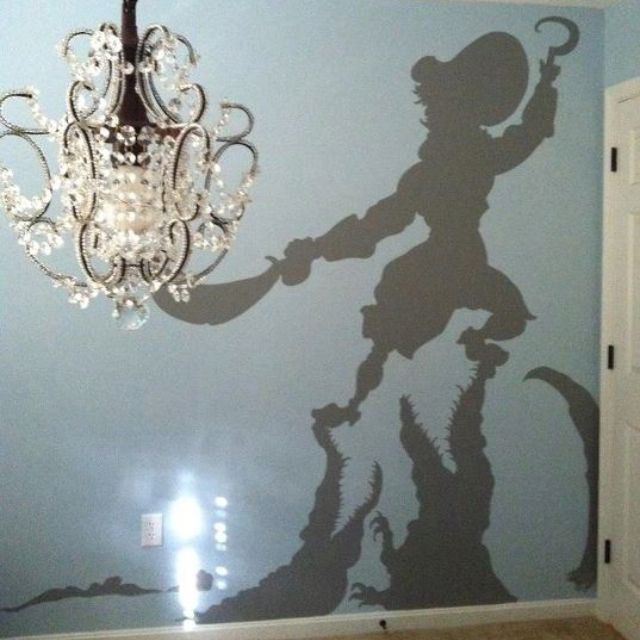 Peter pan nursery @Desiree Nechacov Dare