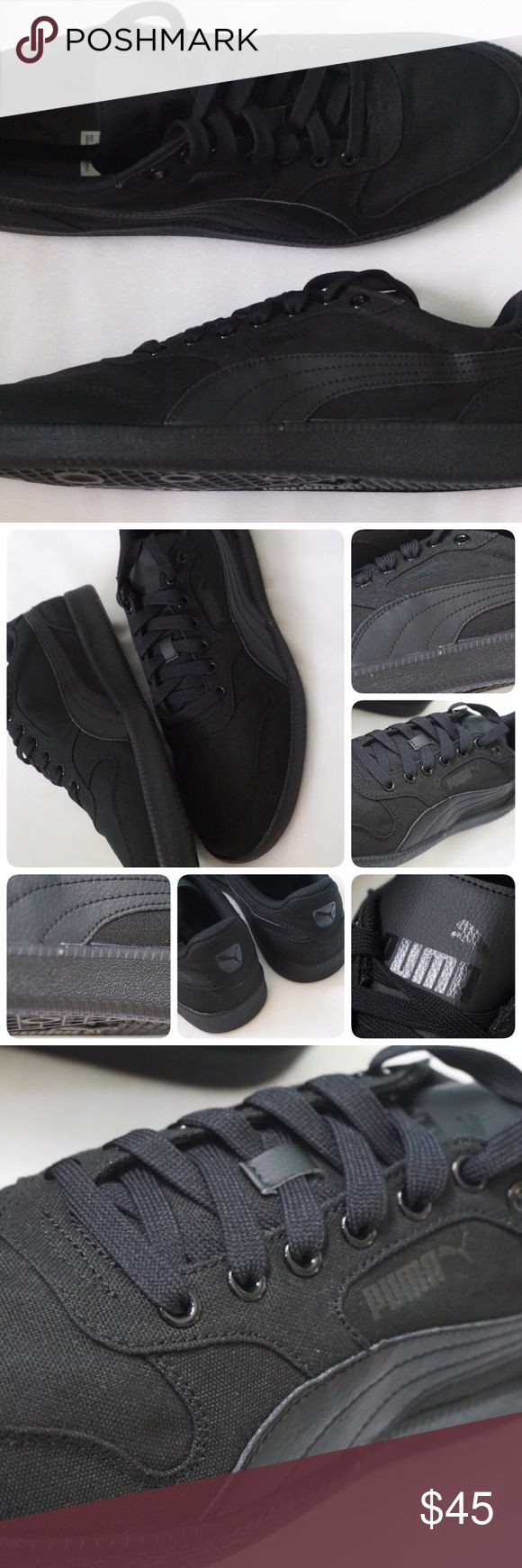 🆕LISTING PUMA ICRA TRAINER CV SIZE 13MEN -BRAND NEW IN BOX  -SIZE: 13MEN -COLOR: BLACK -MADE IN INDONESIA -INCLUDE ORIGINAL BOX WHEN SHIP   ⚠️⚠️⚠️PLEASE UNDERSTAND SOMETIME THE BOX POSSIBLY DAMAGED. IF YOU CONCERNED ABOUT THE BOX PLEASE ASK FIRST BEFORE PURCHASE. PLEASE PAY ATTENTION TO DETAILED OF SHOES OF THE PIC. THANKS ⚠️⚠️⚠️⚠️⚠️       ⭐️TOP RATED SELLER 👍FAST SHIPPER NEXT DAY SHIPPING ❌NO TRADE ❌NO PAYPAL ✅BUNDLE OFFER Puma Shoes Sneakers